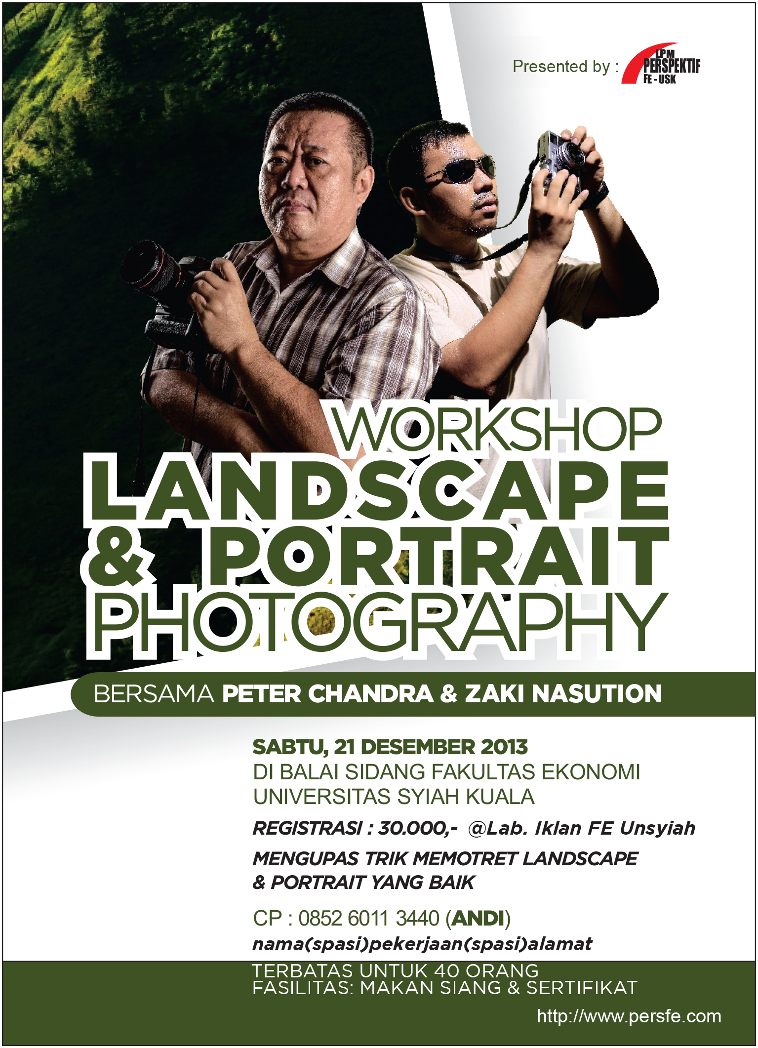 Workshop Landscape Portrait Photography