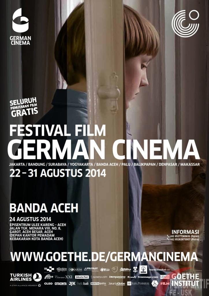 Film Terbaik Jerman akan Diputar pada Festival Film German Cinema 2014 di Aceh