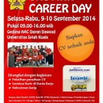 Poster Unsyiah Career Day