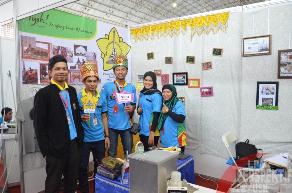 Tiga Wirausahawan Muda Unsyiah Pamer Produk Di EXPO Wirausaha Indonesia