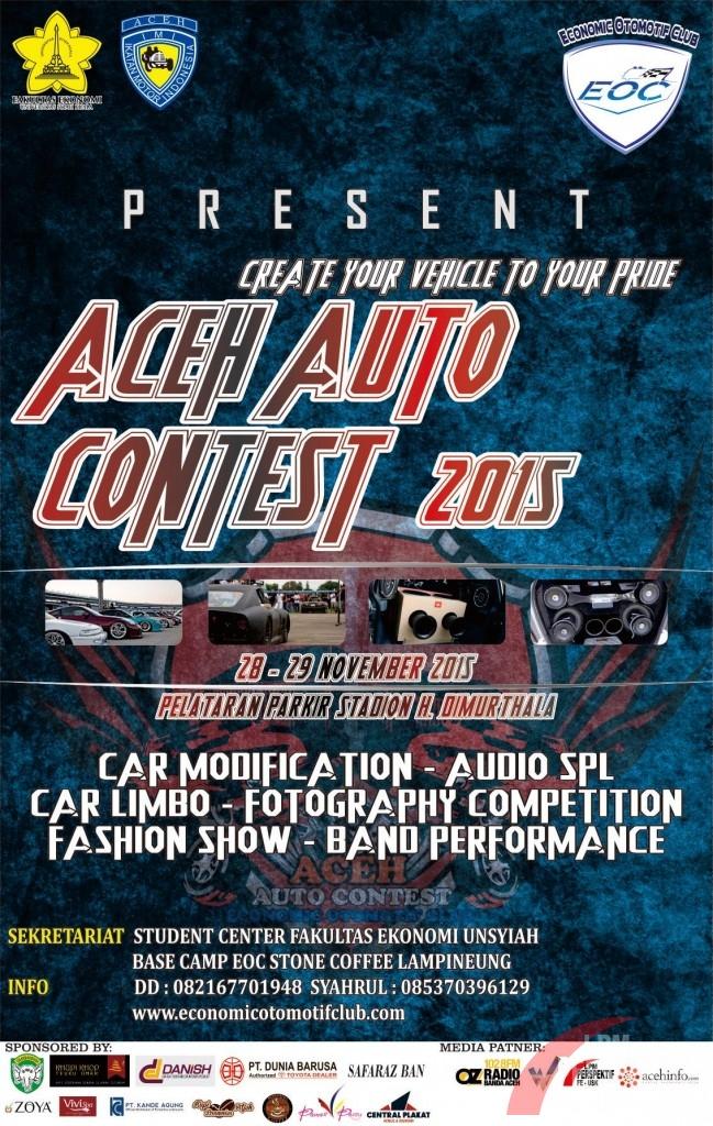Minggu Depan, Aceh Auto Contest Akan Pamerkan Berbagai Jenis Otomotif