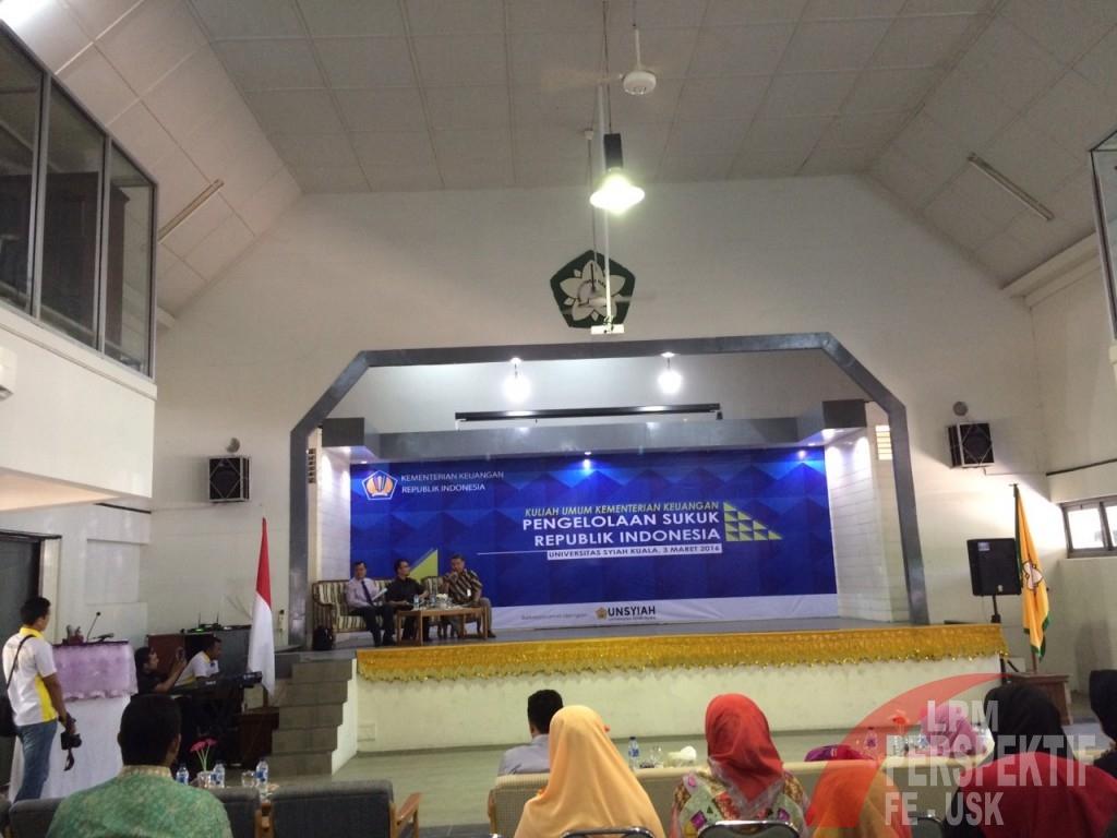 Kementrian Keuangan Republik Indonesia Adakan Kuliah Umum