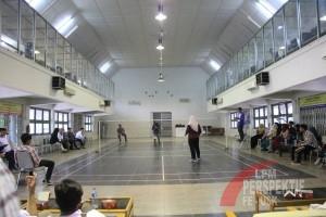 Excellent Hari Pertama Dibuka Dengan Pertandingan Badminton tunggal Putri (Iqbal/Perspektif)