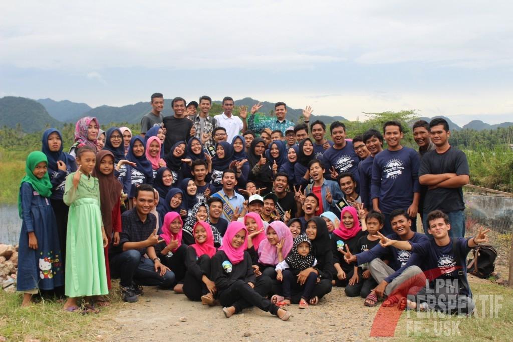 KKN PPM 10 Unsyiah Gelar Saweu Nusa (Dokumentasi KKN PPM 10)