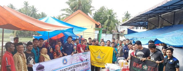Mahasiswa Ekonomi Unsyiah Gelar Bakti Sosial Untuk Korban Gempa Pidie Jaya