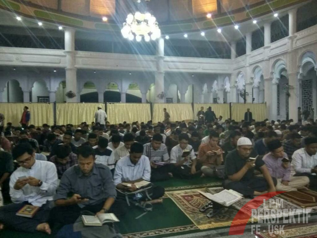 Unsyiah termasuk salah satu dari 12 Universitas di Indonesia yang melaksanakan kegiatan Khatam Quran oleh KEMRISTEKDIKTI (Razi/Perspektif)
