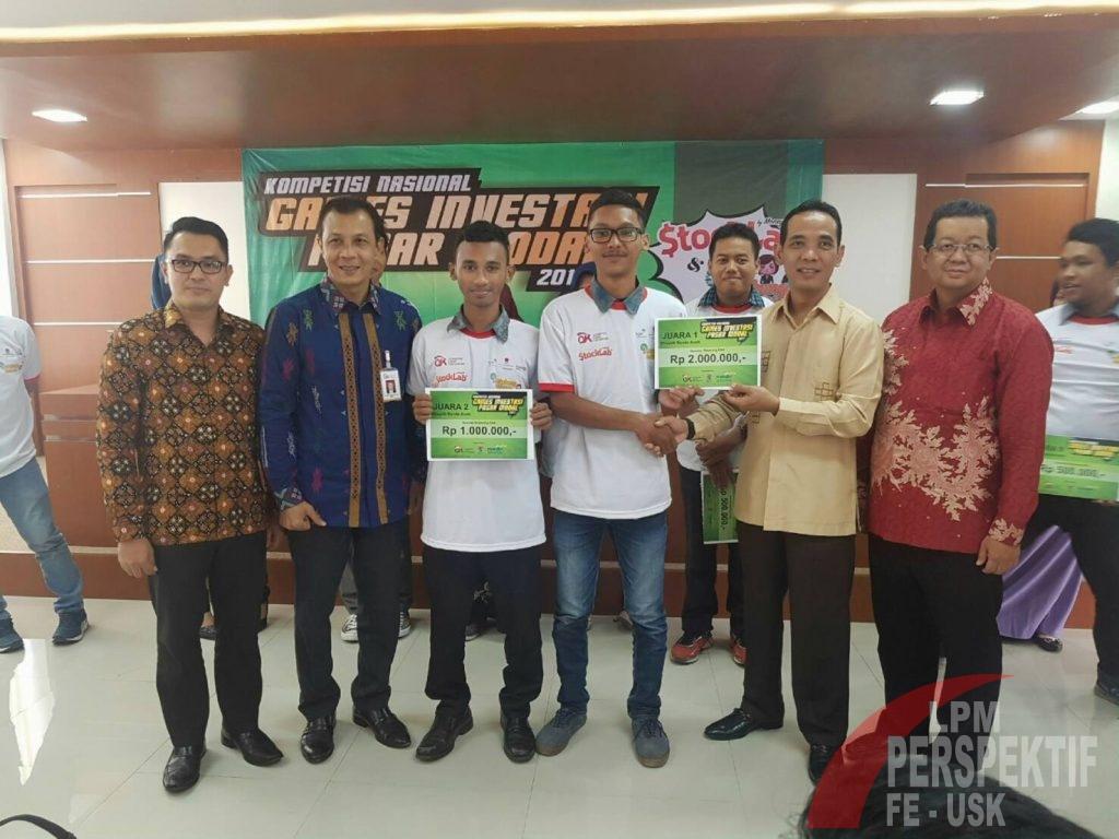 "Mahasiswa FEB Unsyiah Wakili Aceh pada Kompetisi Nasional ""Stocklab Competition"""