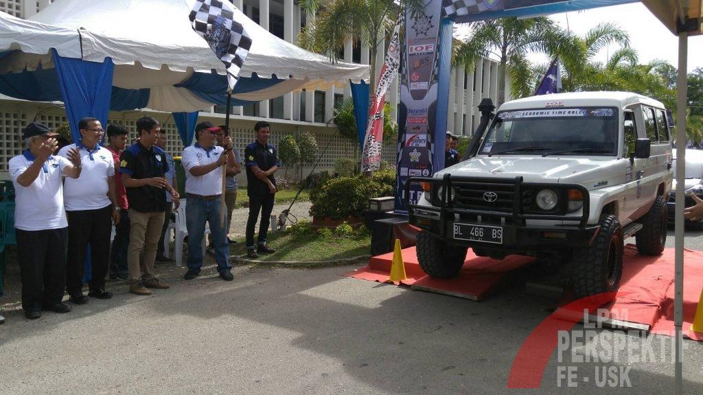 Puluhan Peserta Meriahkan Economic Time Rally 2017