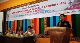 Persatuan Jurnalis Kampus di Banda Aceh Adakan Workshop