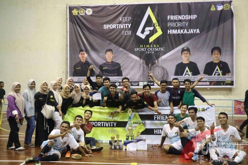 EKA 15 Kembali Rebut Juara Futsal HISO 2018