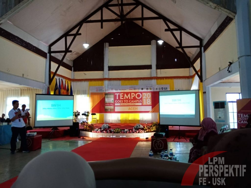 Tempo Goes to Campus, Ajak Masyarakat Melawan Hoax