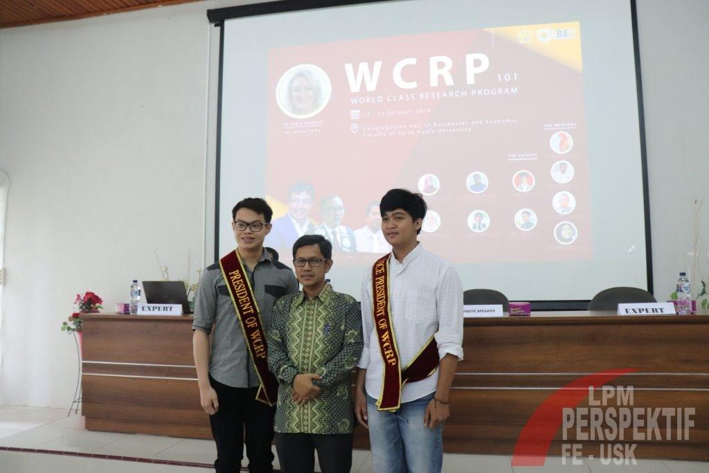 Unsyiah Fokus pada Publikasi Sitasi Ilmiah, FEB Adakan Kelas Riset Dunia (WCRP)