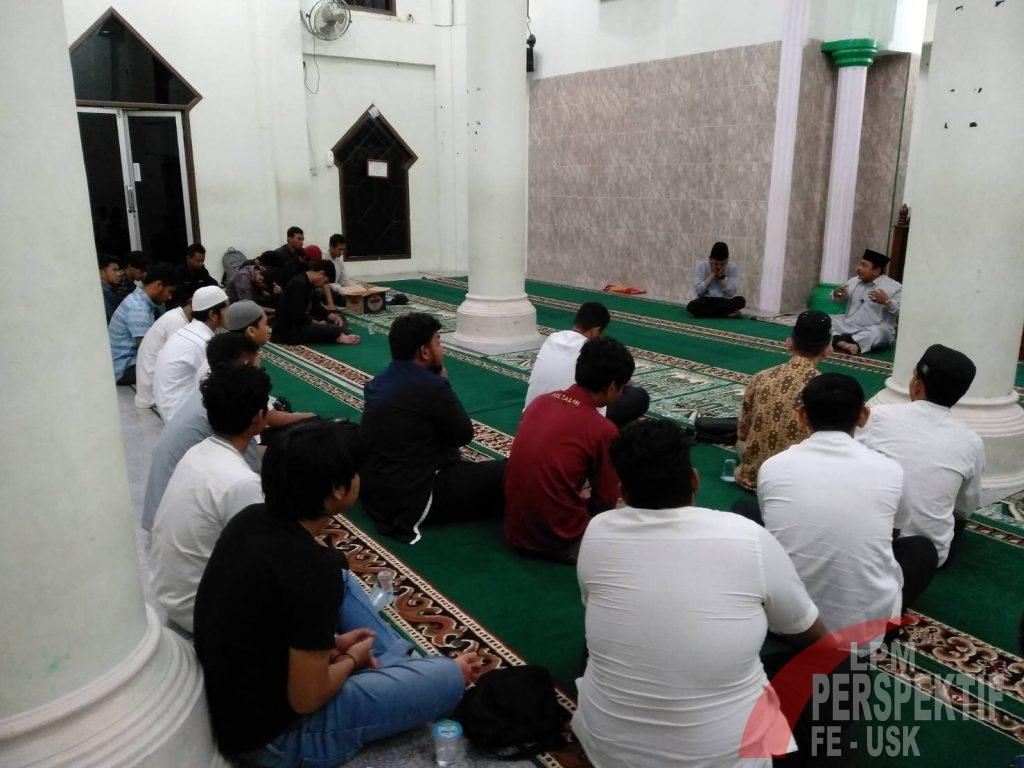 Pray For Selat Sunda : ORMAWA FEB Unsyiah Gelar Zikir Akbar