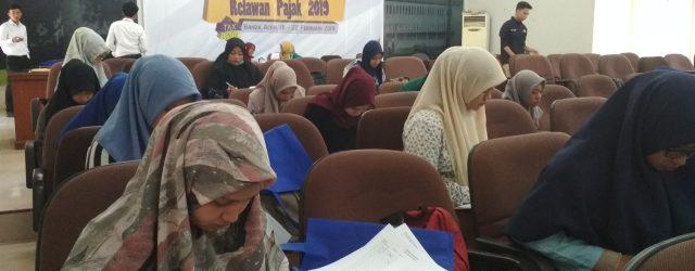 Pelatihan dan Leveling Relawan Pajak 2019 : Menyadarkan Wajib Pajak demi Pembangunan Negara