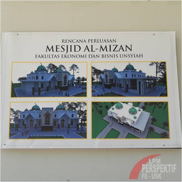 Mesjid AL-MIZAN FEB Unsyiah Rencanakan Renovasi
