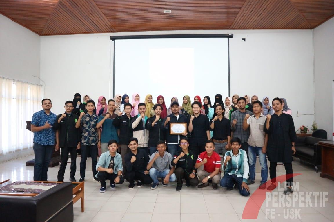 LDF Al-Mizan FEB Unsyiah, Sukses Selenggarakan Workshop Public Speaking