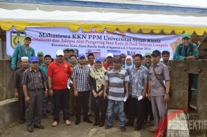 Mahasiswa KKN PPM Gampong Lampulo