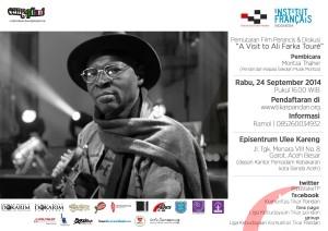 "Cang-pilem! Pemutaran dan Diskusi Film Perancis ""A Visit to Ali Farka Toure"""