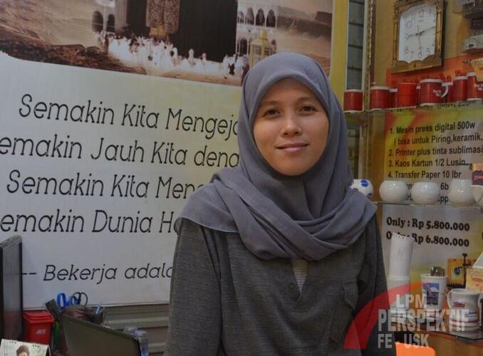 Alween Ong ajak mahasiswa menjadi entrepreneur sejak dini (sumber: Tabloid imaji)
