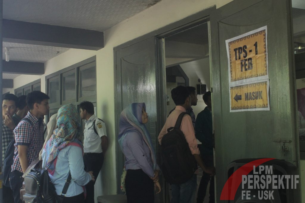 Pemira 2016 di Fakultas Ekonomi berjalan lancar (Ilo/Perspektif)