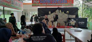 Suasana BESJAM di Kanitin Fakultas Ekonomi, Kamis, 19/0919 (salsa/perspektif)