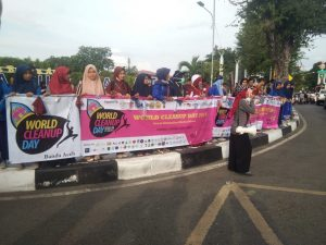 Kegiatan Orasi WCD di Taman Sari Banda Aceh (Reza/Perspektif)